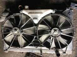Радиатор охлаждения двигателя. Toyota Mark X, GRX120
