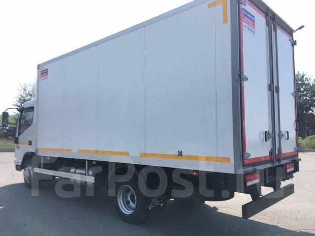 JAC N75. Рефрижератор/изотермический фургон Isuzu , 3 760куб. см., 4 470кг., 10x6