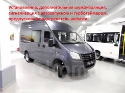 ГАЗ ГАЗель Next. ГАЗ-A32R22 ГАЗель Next Цельнометаллический фургон (ЦМФ) Комби (7 мест), 2 770куб. см., 1 500кг.
