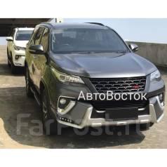 Обвес кузова аэродинамический. Toyota Fortuner, GUN166, TRN166 Двигатели: 1GDFTV, 2TRFE