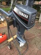 Yamaha. 6,00л.с., 2-тактный, бензиновый, нога S (381 мм), 2000 год год