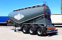 Bonum. Полуприцеп-цистерна для перевозки сыпучих грузов (цемента), 35 000кг. Под заказ
