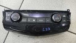 Блок управления климат-контролем. Nissan Teana, L33