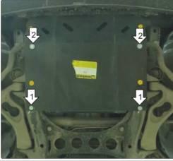 Защита двигателя. Volkswagen Touareg, 7L6, 7L7, 7LA Porsche Cayenne, 955, 958 Двигатели: AXQ, AYH, AZZ, BAA, BAC, BHK, BHL, BJN, BKJ, BKS, BLE, BLK, B...