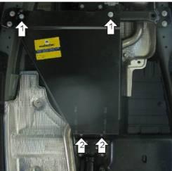 Защита раздаточной коробки. Volkswagen Touareg, 7L6, 7L7, 7LA Porsche Cayenne, 955, 958 Двигатели: AXQ, AYH, AZZ, BAA, BAC, BHK, BHL, BJN, BKJ, BKS, B...