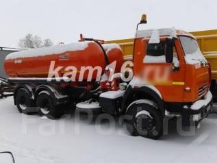 Коммаш КО-505А. Вакуумная машина Камаз КО-505А, 10 800куб. см.