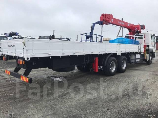 Daewoo Novus. 15тонн с КМУ Z-Ton 876 (7,5 тонн) - 2018 год, 15 000кг., 6x4