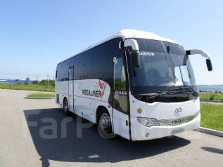 Аренда автобуса Higer KLQ 6885Q. Перевозим детей и взрослых. С водителем