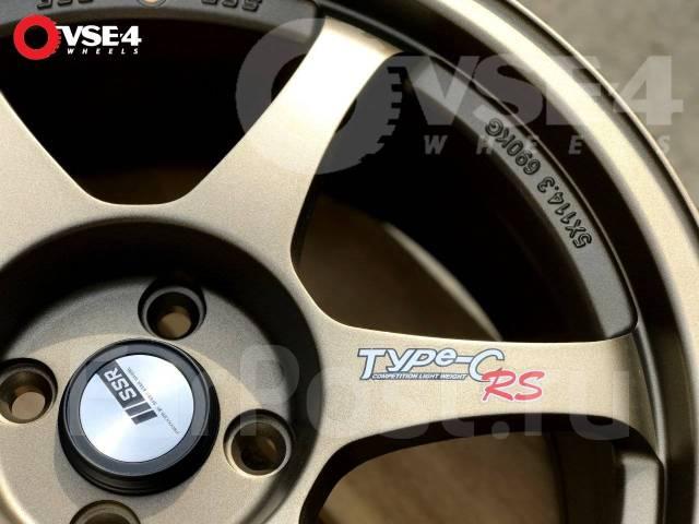 """SSR Type-C. 8.0x17"""", 4x100.00, ET35, ЦО 73,1мм."""