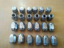 Гайка на колесо. Mitsubishi Pajero, K94W, K96W, KH4W, KH6W, KH8W, KH9W, L141GW, L144G, L144GW, L144GWG, L146GW, L146GWG, L149GW, L149GWG, V11V, V12W...