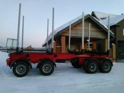 Briab. Продаётся лесовозный прицеп 4-осный в Томске, 36 000кг.