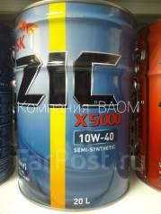 ZIC X5000. Вязкость 10W-40, синтетическое
