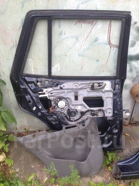 Дверь задняя левая Hyundai Santa Fe