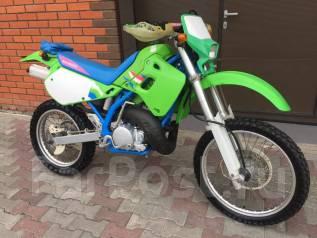 Kawasaki KDX 250. 250куб. см., исправен, птс, без пробега