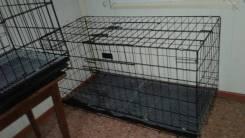 Клетки для собак в наличии! Размеры: 130x60x70, 100x60x70!