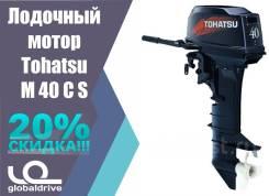 Tohatsu. 40,00л.с., 2-тактный, бензиновый, нога S (381 мм), 2017 год год
