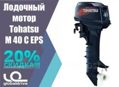 Tohatsu. 40,00л.с., 2-тактный, бензиновый, нога S (381 мм), 2018 год год