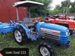 Iseki. Японский мини трактор Seal 223 c документами ПСМ, фреза, 22 л.с. Под заказ