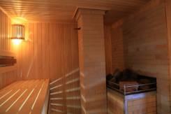 Дом с баней и бассейном 120 кв. от 1500 р. в будние посуточно. От частного лица (собственник)
