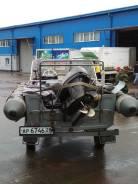 Воронеж. 2014 год год, двигатель подвесной, 40,00л.с., бензин