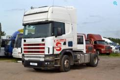 Scania R124. Седельный тягач Topline. Год выпуска 2004. Пробег 450 000