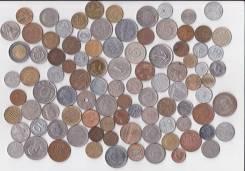Монеты Европы (96 шт. ) с 1944 - 2013гг. + альбом! Без повторов!
