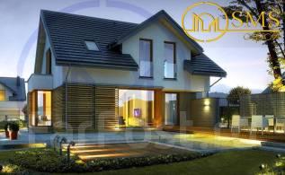 """Проект дома """"Интер"""". 100-200 кв. м., 2 этажа, 4 комнаты, бетон"""