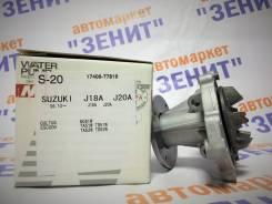 Помпа водяная. Suzuki: Escudo, Sidekick, Esteem, Grand Vitara XL-7, Grand Escudo, SX4, Vitara, Baleno, Grand Vitara Двигатель J20A