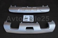 Накладка на бампер. Nissan X-Trail, T32