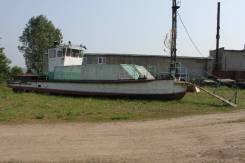 """Самоходное маломерное судно """"Юнга"""". 1960 год, длина 18,00м., двигатель стационарный, 90,00л.с., дизель"""