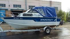 Starcraft. 1995 год год, длина 5,80м., двигатель стационарный, 135,00л.с., бензин