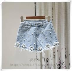 Шорты джинсовые. 40, 42, 44