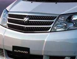Решетка радиатора. Toyota Alphard, ANH10, ANH10W, ANH15, ANH15W, MNH10, MNH10W, MNH15, MNH15W Двигатели: 1MZFE, 2AZFE. Под заказ