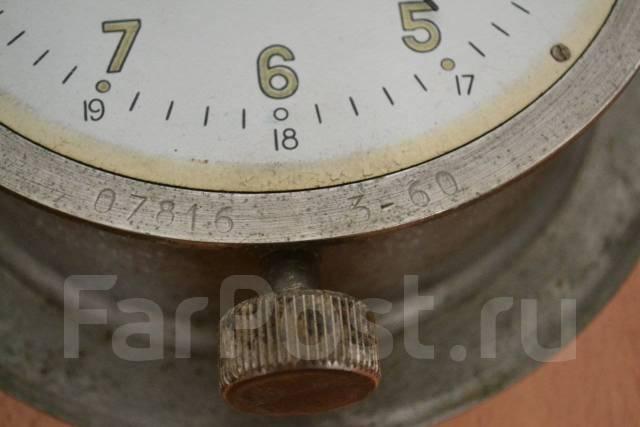 Часы судовые каютные СССР На ходу Обмен. Оригинал