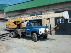 ДЗАК КС-3575А. Автокран ЗИЛ-133ГЯ КС-3575А, 10 850куб. см., 15,00м.