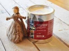 Натуральные немецкие масла и краски для дерева Biofa. Под заказ