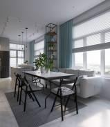Дизайн интерьера. При заказе ремонта - дизайн в подарок!. Тип объекта квартира, комната, помещение, коттедж