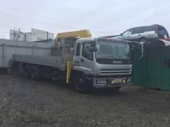 Isuzu Giga. Продается бортовой грузовик с манипулятором, 19 001куб. см., 20 000кг.