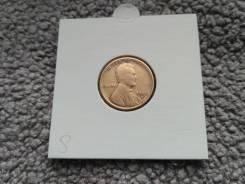 Очень редкий 1 Цент 1928(S) года Старинного типа США