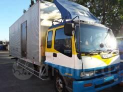 Isuzu Forward. Надежный грузовик с большой будкой, 7 200куб. см., 6 500кг.