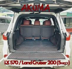 Коврики. Lexus LX450d Lexus LX570 Toyota Land Cruiser, GRJ200, GRJ76K, GRJ79K, J200, URJ200, URJ202, URJ202W, UZJ200, UZJ200W, VDJ200 Двигатели: 1GRFE...
