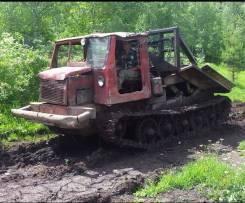 АТЗ ТТ-4. Трелёвочный трактор ТТ 4