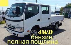 Toyota ToyoAce. 4WD, двухкабинник+борт, 2 000куб. см., 1 500кг., 4x4