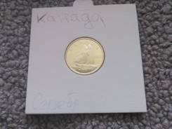 10 Центов 1965 года Канада. Серебро. Proof.