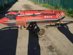 Mach. 2000 год год, длина 2,90м., двигатель подвесной, 9,90л.с., бензин