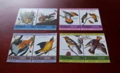 Экзотика! Тувалу. 8 чистых марок 1985 г. Птицы. Полная серия. Отличный