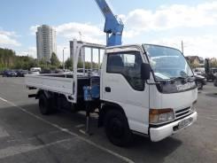 Isuzu Elf. Продам грузовик isuzu elf с манипулятором, 4 300куб. см., 2 000кг., 4x2