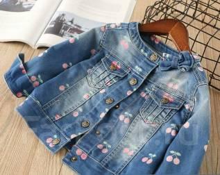 Куртки джинсовые. Рост: 80-86, 86-92, 92-98, 98-104, 104-110, 110-116, 116-122 см. Под заказ