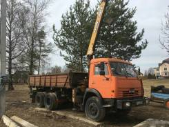 КамАЗ 53215. КамАЗ-53215 самосвал с КМУ КАТО, 10 850куб. см., 3 000кг.