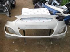 Бампер передний Hyundai Solaris (09.2010 - 05.2014) №0070